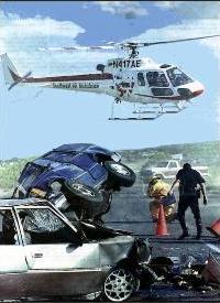 Foto da aeronave AS350B2, envolvida no acidente