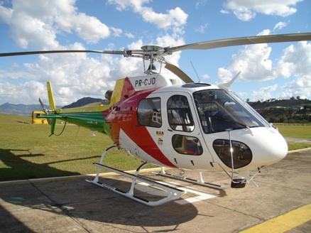 Helicóptero recebido pelo Estado do Acre