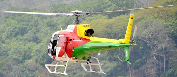 Primeiras operações com helicóptero policial no Acre