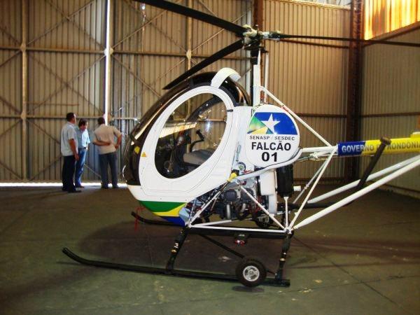 A nova aeronave de Rondônia