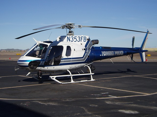 AS 350B3 - Phoenix Police Department Air Support