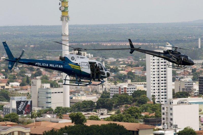 CIOPAER e GOE de Mato Grosso