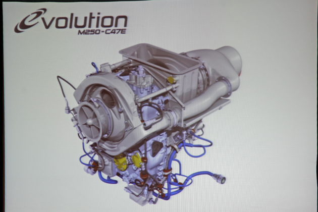 Rolls Royce M250-C47E
