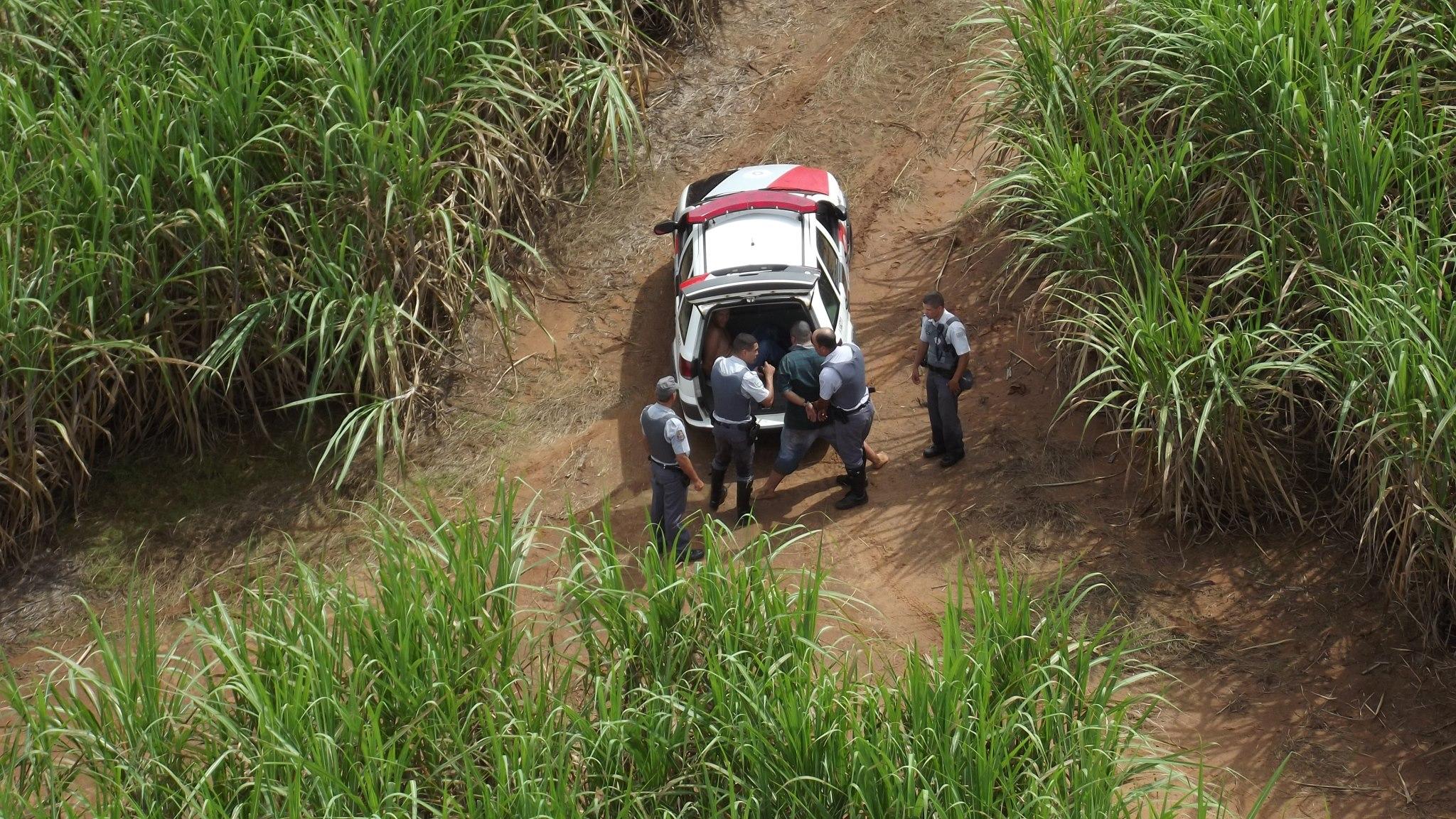 BRPAe Presidente Prudente apoia prisão de contrabandistas