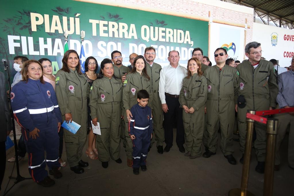 Lançamento SAMU - Piauí