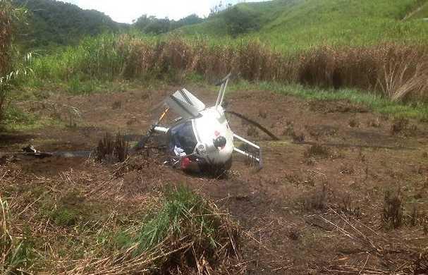 Acidente com helicóptero da Polícia Nacional da Filipinas