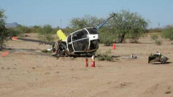 Acidente com helicóptero policial americano 2