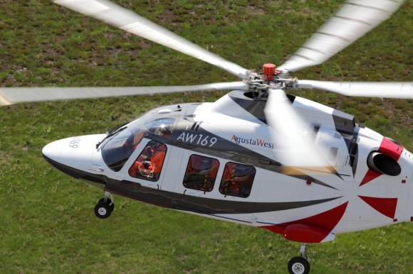 AW169. Foto: AgustaWestland