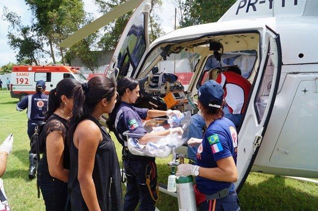 Sem UTI, mais um recém-nascido precisa ser levado para tratamento em outra cidade. Foto: Roberto Miranda.