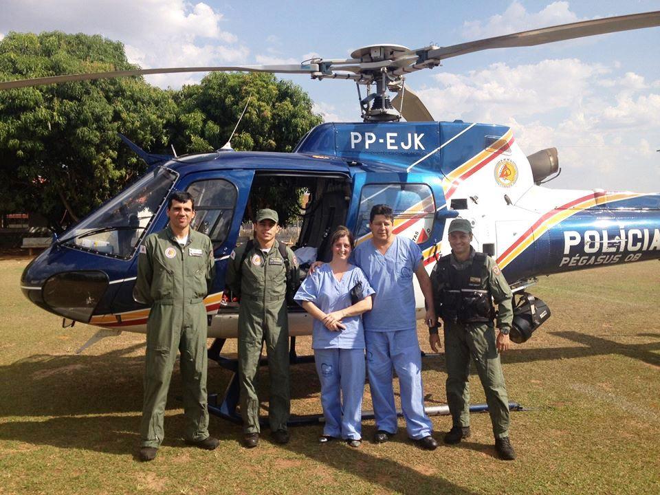 Pégasus 08 equipe médica Patos