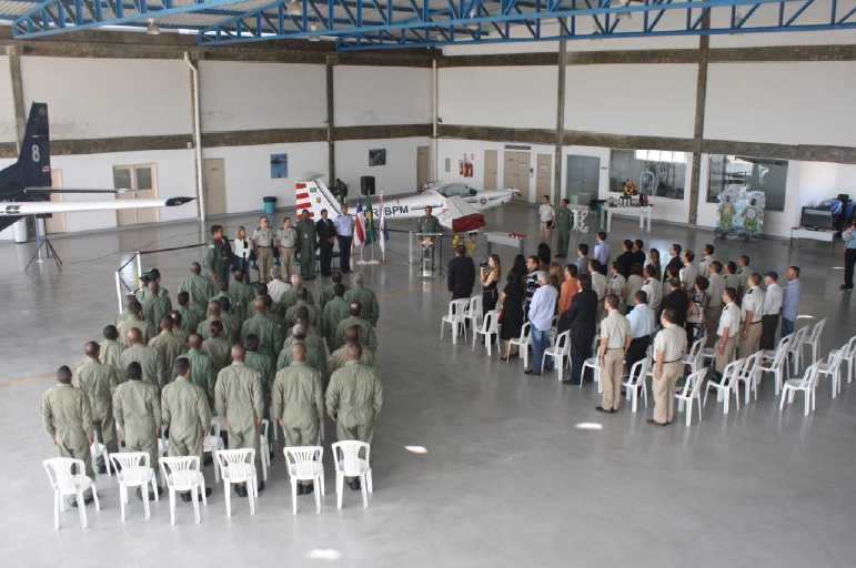 Solenidade de Elevação a Comandante de Avião, do Ten PM SOLON ANDERSON ROCHA FERREIRA 1