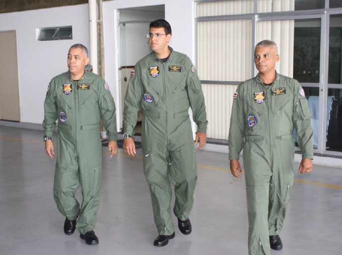 Solenidade de Elevação a Comandante de Avião, do Ten PM SOLON ANDERSON ROCHA FERREIRA