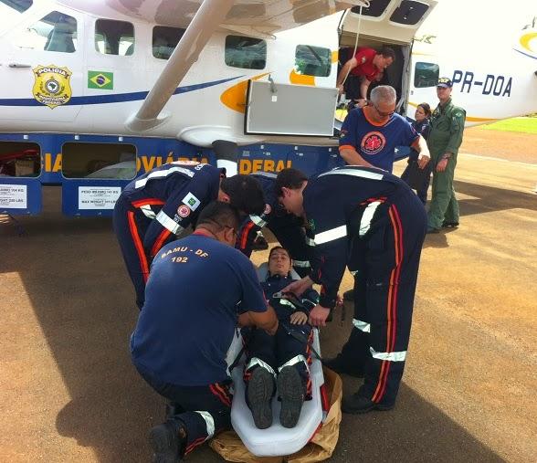 PRF treina médicos e enfermeiros do SAMU para missões aéreas