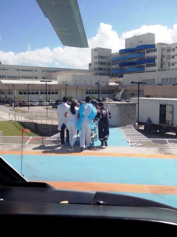 Resgate realizado pelo NOTAer em Guarapari/ES
