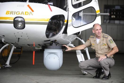 No próximo verão, helicópteros da Brigada Militar poderão ser utilizados em casos de urgência Foto: Ronaldo Bernardi  / Agencia RBS.