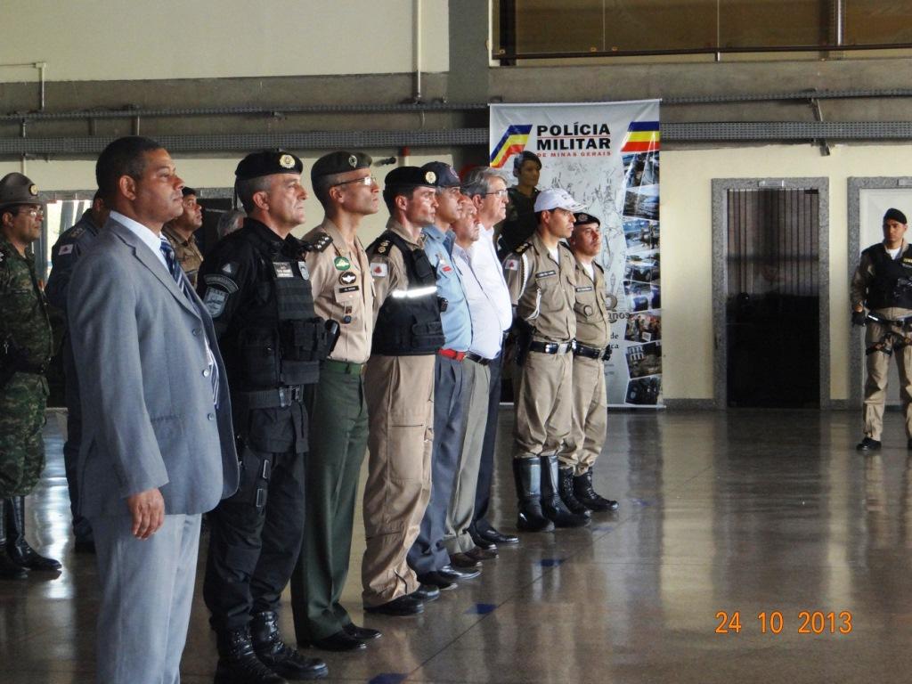 Btl RpAer/PMMG: Solenidade militar em comemoração ao mês da aviação