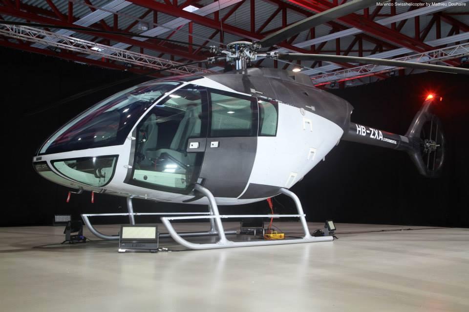 Protótipo do helicóptero suiço Marenco SKYe SH09