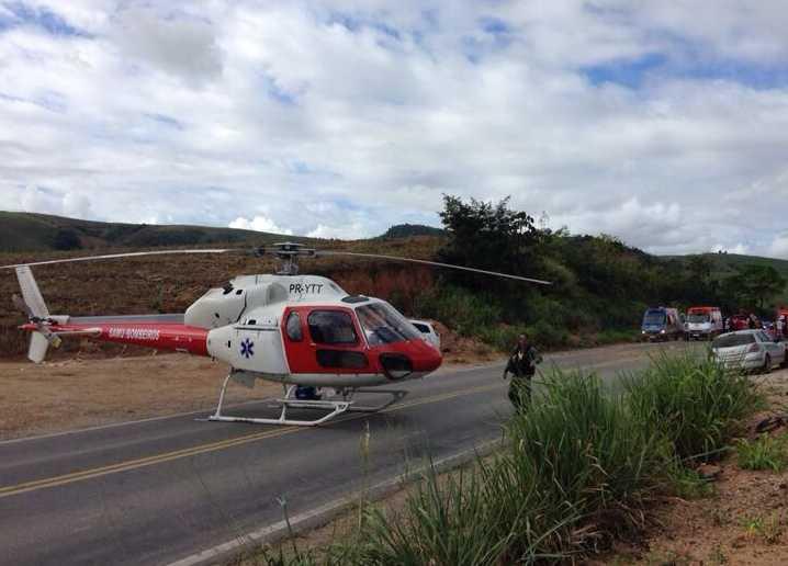 Arcanjo realiza resgate aeromédico na BR 101, em Alagoas 2