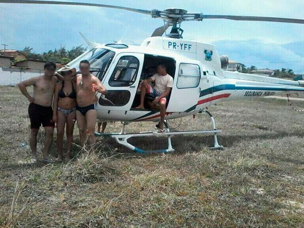 Secretaria de Segurança vai apurar uso de helicóptero da polícia do RN