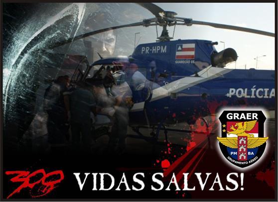 300 VIDAS SALVAS