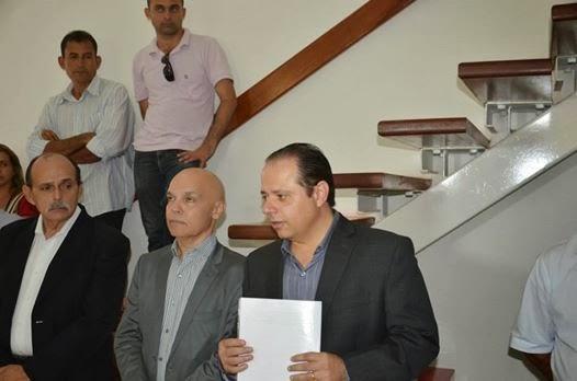 Victor Samule e Cláudio Pinho