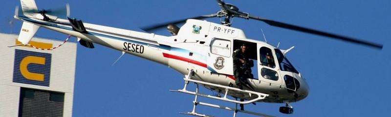 Policiais e Bombeiros do RN podem se inscrever no Curso de Tripulante Operacional.