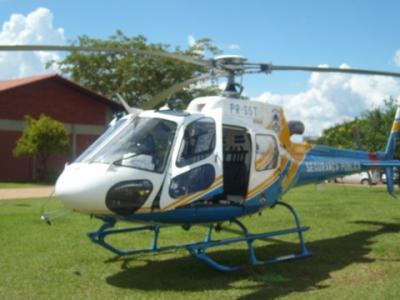 Helicóptero do CIOPAER efetua remoção aeromédica em Mateiros.