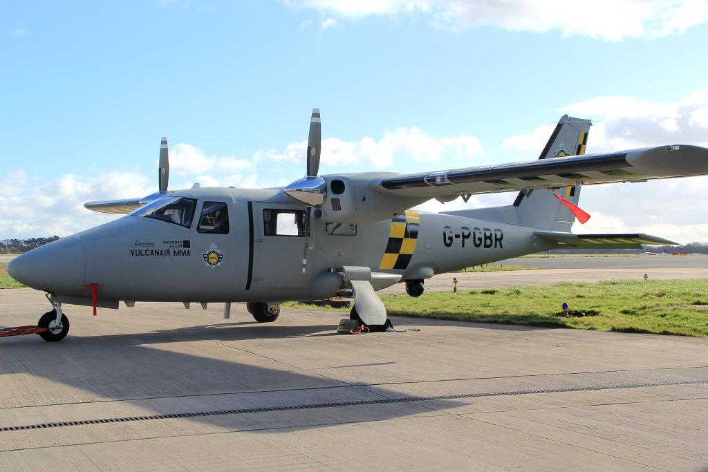 Serviço Nacional de Aviação Policial (NPAS UK) inglês concedeu à Airborne Technologies contrato para equipar aeronave de vigilância