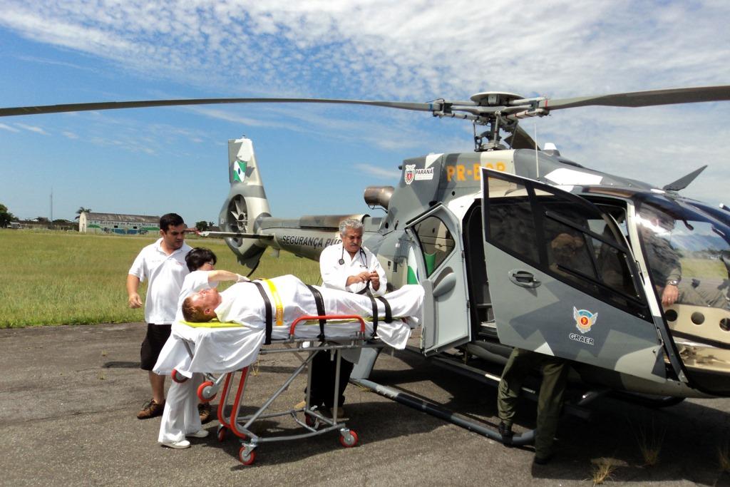 No Paraná, helicópteros do Estado salvaram 1.023 vidas