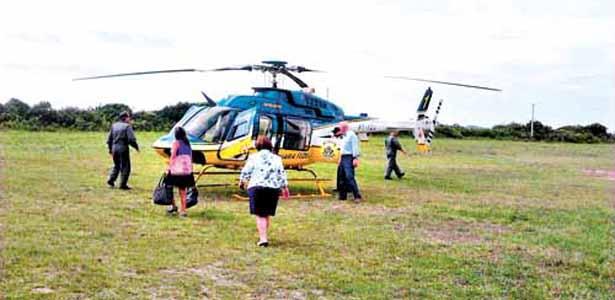 PGR também utilizou o helicóptero da PRF/SC