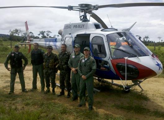 GRAESP apoia o Exército na Operação IRIRI.