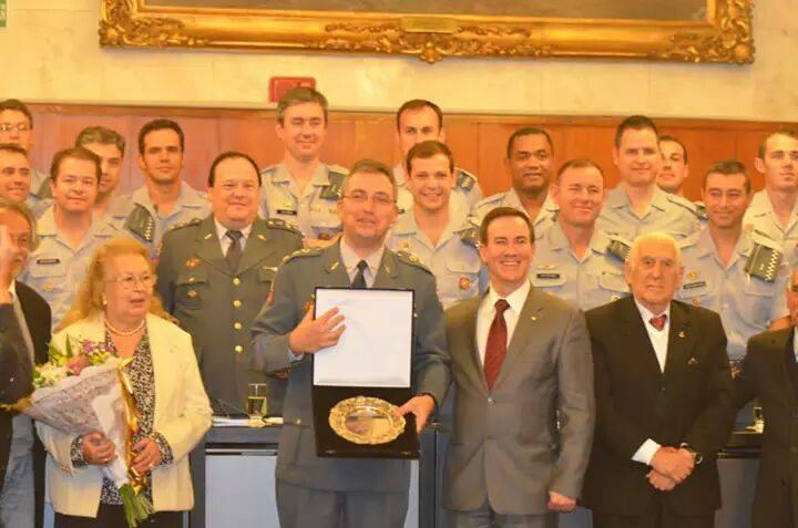 GRPAe/SP recebe recebe homenagem na Câmara Municipal/SP