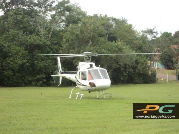Helicóptero do Consamu transporta garoto com trauma de tórax no Paraná 3