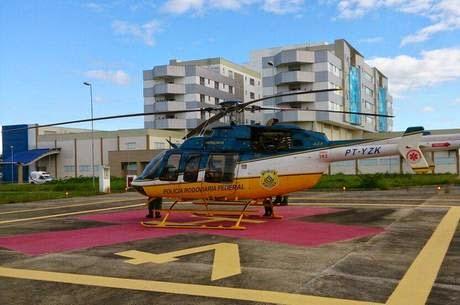 Bebê é resgatado por equipes da PRF e SAMU em Ribeira do Pombal/BA