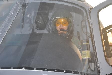 CIOPAer/CE nomeia mulher como piloto das forças de segurança