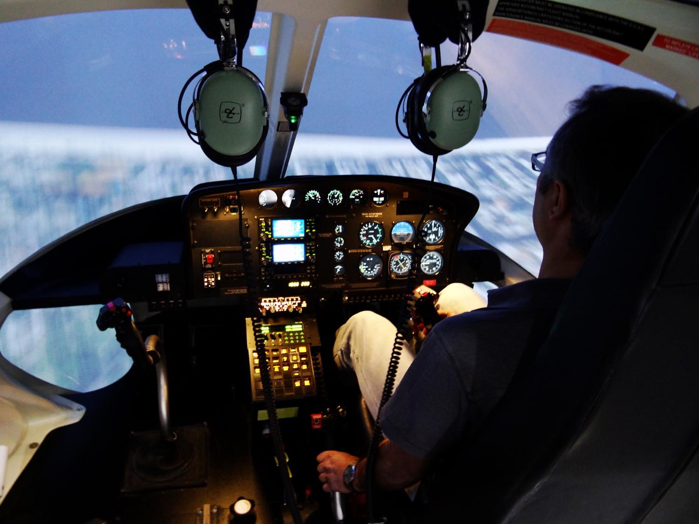 Simulador CAE AS350