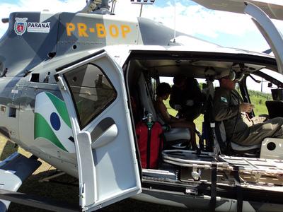 Batalhão de Polícia Militar de Operações Aéreas (BPMOA). Foto: ANPr