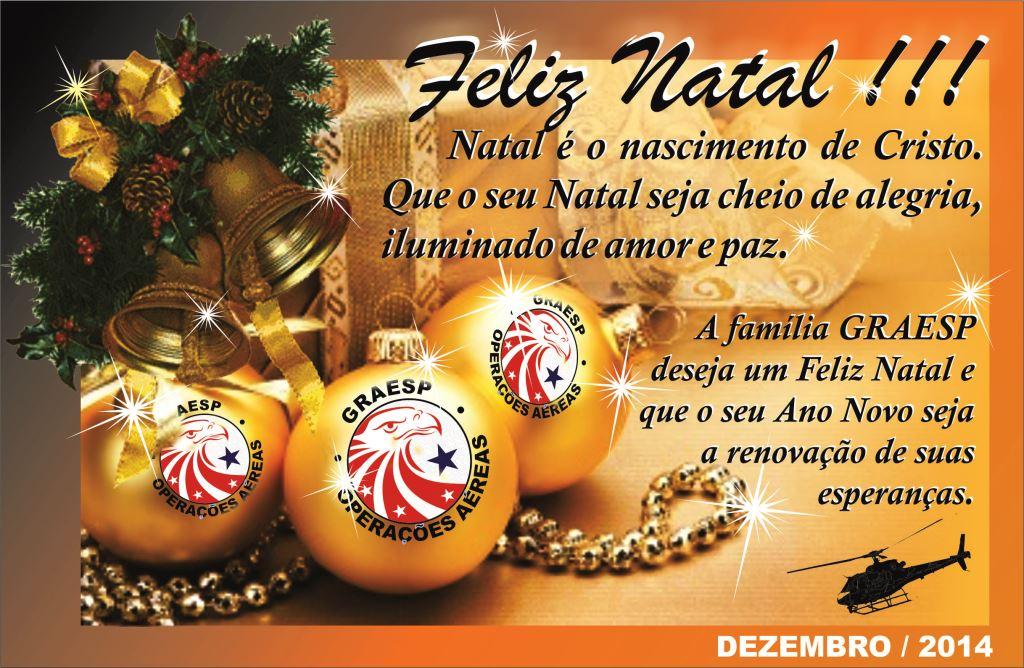 Cartu00E3o de Natal GRAESP 2014