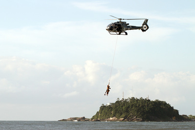 Corpo de Bombeiros e helicópteros salvam 554 pessoas no Litoral