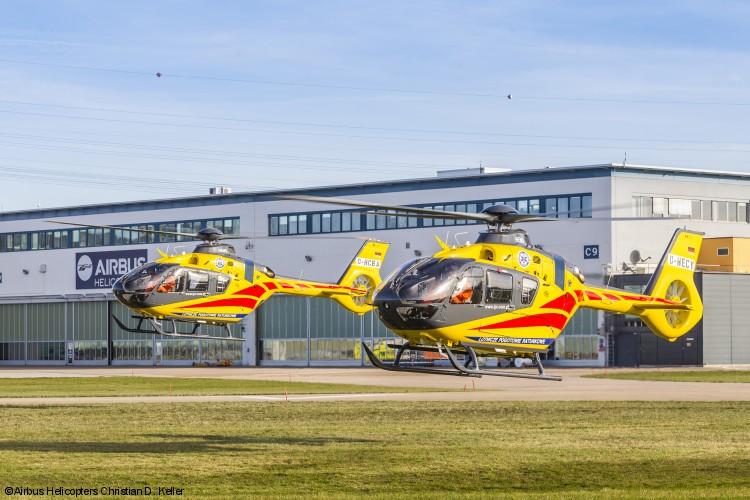 Airbus Helicopters entrega quatro novos helicópteros H135 à operadora LPR na Polônia