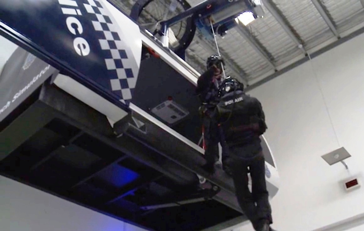 Polícia de West Australia inaugurou seu primeiro simulador para a prática de resgates