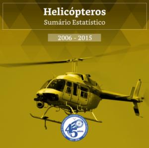 CENIPA disponibiliza Sumário Estatístico de Helicópteros