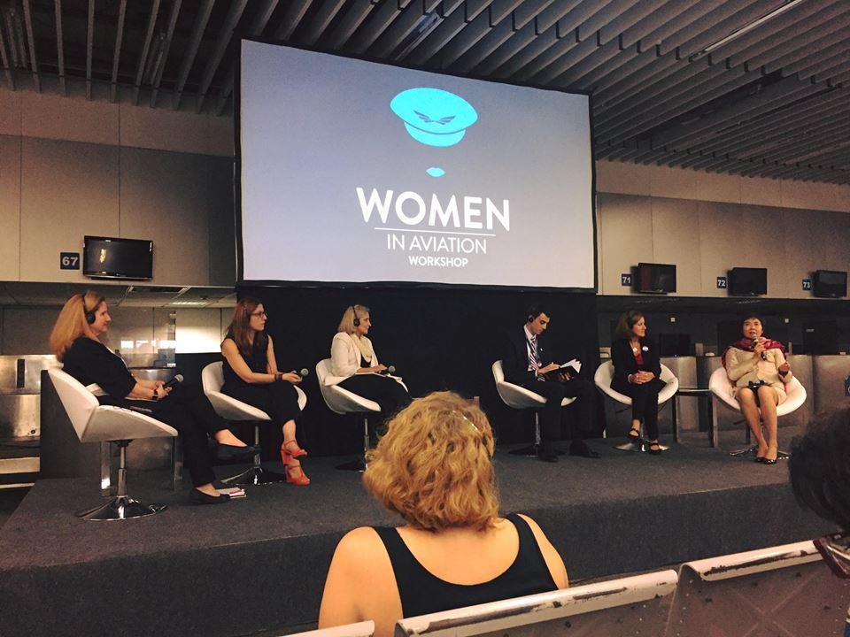O objetivo do seminário é debater e incentivar a participação de mulheres na aviação!