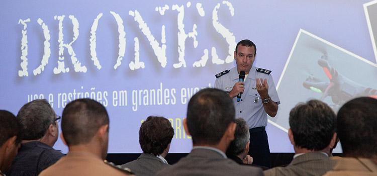 Cel Jorge Humberto Vargas, do DECEA. Foto: Felipe Barra