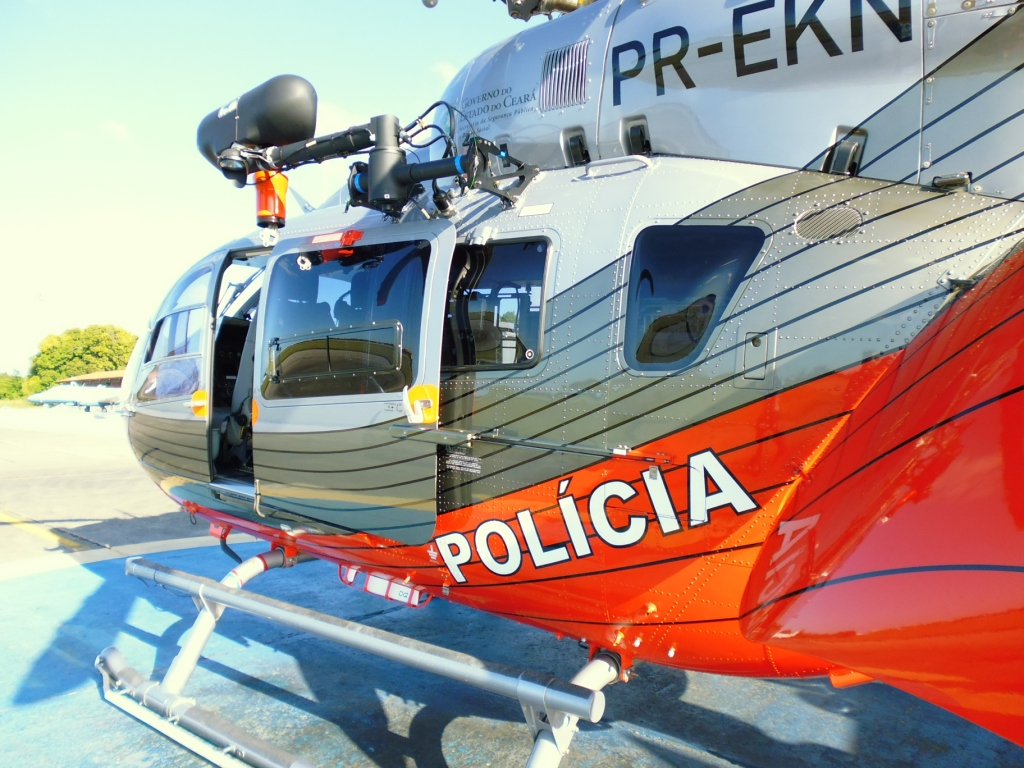 EC145 da CIOPAer do Ceará. Foto: Eduardo Beni.