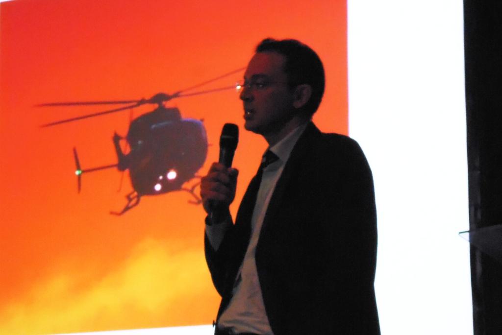 Dr. Paulo Arruda, médico da CIOPAer do Ceará. Foto: Eduardo Alexandre Beni.