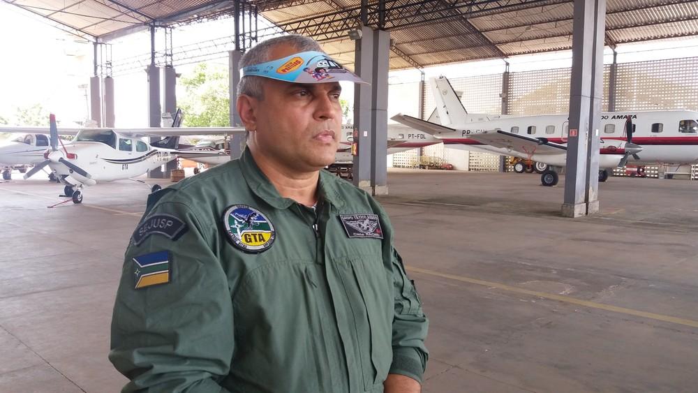 Ajaje Rachid, comandante do GTA (Foto: Jorge Abreu/G1)