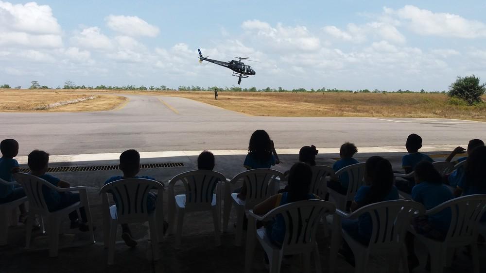 GTA apresenta rotina de trabalho para estudantes do Amapá