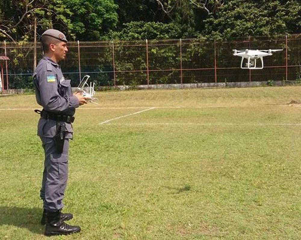 Tecnologia será adotada para fiscalizações do Batalhão Ambiental da Polícia Militar (Foto: Divulgação/Polícia Militar)