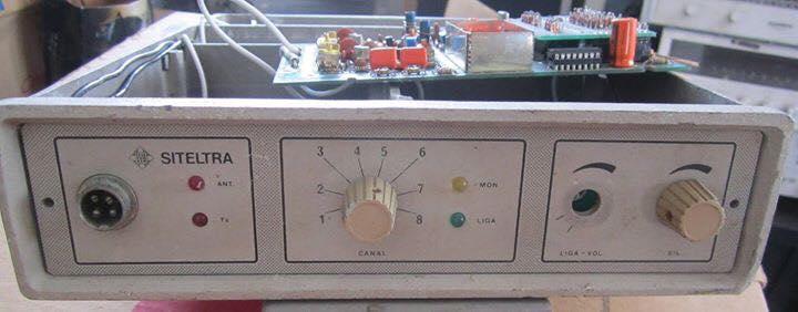 Siteltra modelo RTV-280S de 8 canais